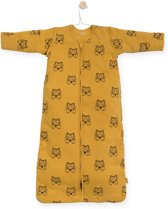 Jollein Tiger Padded Babyslaapzak met afritsbare mouw - 70cm mustard