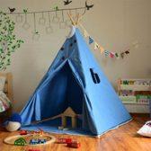 Speeltent - Wigwam - Tipi tent - Blauw