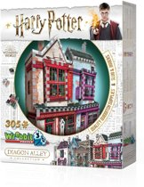 Wrebbit 3D Puzzle - Harry Potter Quality Quidditch Supplies & Slug & Jiggers (305)