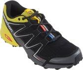 Salomon Speedcross Vario  Hardloopschoenen - Maat 44 2/3 - Mannen - zwart/geel/grijs