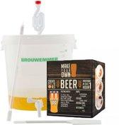 Compleet brouwpakket zelf bier brouwen thuisbrouwen bierbrouwen. Brouw je eigen 10 liter IPA bier met dit volledige brouw pakket I.P.A.