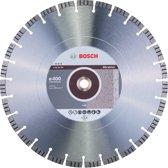 Bosch - Diamantdoorslijpschijf Best for Abrasive 400 x 20,00+25,40 x 3,2 x 12 mm