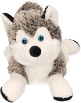 Pluche husky knuffel 30 cm