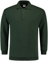 Tricorp Polo Sweater Boord  301005 Flessengroen  - Maat XS