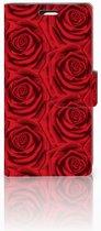 LG Spirit Uniek Boekhoesje Red Roses