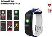 DrPhone V8 High - Activity tracker - Blauw