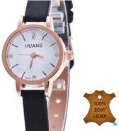 Huans Horloge- Bruin- 22.5 cm- Genuine leather