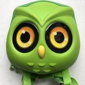 Kinderrugzak Uil (Groen)