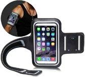 Smartphone armband - iPhone 6(S) - Waterafstotend - Zwart