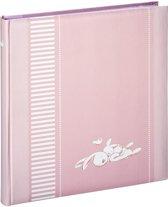 Hama Boekalbum Lasse 29x32 Cm 50 Witte Pagina's Roze