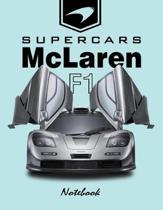 Supercars McLaren F1 Notebook
