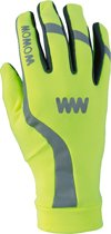 Wowow Dark Gloves 3.0 - handschoenen Fluogeel Small