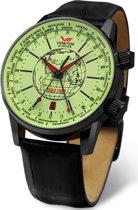 Vostok Europe 2426-5604240 horloge heren - zwart - edelstaal PVD zwart