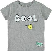 Name it Jongens T-shirt - Grey Melange - Maat 98