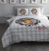 Dreamhouse Dekbedovertrek Jack Russel-140 x 200/220 cm