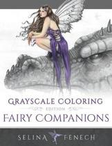 Fairy Companions - Grayscale Coloring Edition