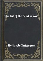 The list of the dead in 2018