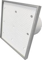 Ventilatieshop badkamer/toilet ventilator - trekkoord - Ø100mm - Tegelfront