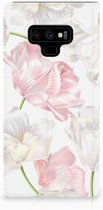Samsung Galaxy Note 9 Standcase Hoesje Design Lovely Flowers
