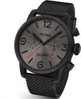 TW Steel Chronos Joyride MST3 Heren Horloge Zwart PVD 45mm Chrono
