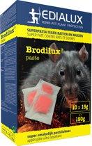 Brodilux pasta 150gr - muizengif / rattengif - tegen ratten en muizen