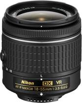Nikon DX AF-P 18-55mm F3.5-5.6G VR BULK - standaard lens - voor Nikon DSLR - voor Nikon spiegelreflex camera -  met stabilisatie