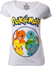 POKEMON - T-Shirt Starting Characters GIRL (L)