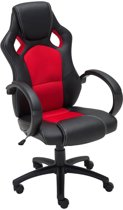 Clp Gaming-stoel - Racing bureaustoel FIRE - Sport seat Racing design - rood