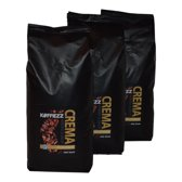 Koffiezz Koffie Crema - 3 x 1 kg