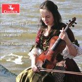 Telemann: 12 Fantasias For Solo Violin, Twv 40:14-