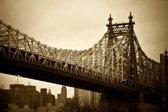 Papermoon New York Bridge Vlies Fotobehang 250x186cm 5-Banen