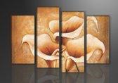 Art4-all - Canvas schilderij Aronskelk - 130x80cm