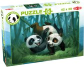 Panda Stars Puzzel Playtime - 56 stukjes