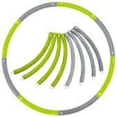 Weight hoop New Style - Fitness Hoelahoep - 2.3 kg - Ø 100 cm - Groen/Grijs