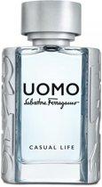 S.FERRAGAMO UOMO CASUAL LIFE MEN EDT Spr 50,0 ml