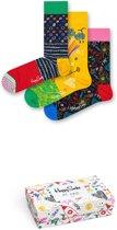 Happy Socks I love Dad Vaderdag Sokken Giftbox - 3-pack - 41-46
