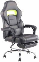 Clp Fuel - bureaustoel - kunstleer - zwart/grijs