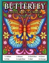 Butterfly Colour by Number