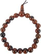 Powerbead Obsidiaan mahonie - armband