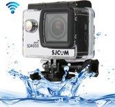 SJCAM SJ4000 WiFi Full HD 1080P 12MP duiken fiets Camera 30m waterdicht Car DVR actiesporten DV met waterdichte Case(White)