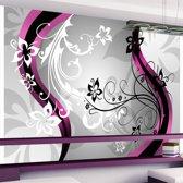 Fotobehang - Art-flowers (pink)