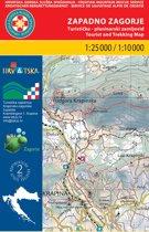 Wandelkaart Zapadno Zagorje Kroatie (2)