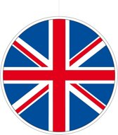 UK/Union Jack hangdecoratie 28 cm