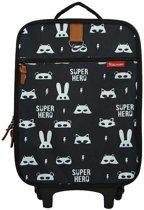 Kidzroom Black & White Trolley Super Hero
