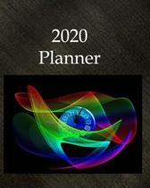 2020 Planner: New Age Daily Weekly Monthly Planner With Options To Record Appointments Blank Lined Organizer Personal Agenda Schedul