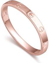 BY-ST6 Klassieke bangle kleur Rosé-Goudkleurig!