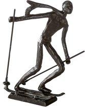 Sculptuurtje skiër