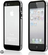 iPhone 5 bumper case hybride zwart / transparant