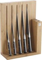 Zwilling J.A. Henckels ZW Pro Messenblok bamboe 6dlg