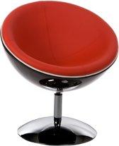 Kokoon Stoel Sphere -  Zwart/Rood